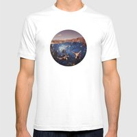Dive In Mens Fitted Tee White SMALL