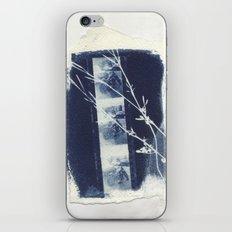 Cyanotype Collage iPhone & iPod Skin