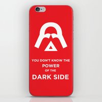The Power of the Dark Side iPhone & iPod Skin