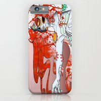 iPhone & iPod Case featuring la muerta by kate collins