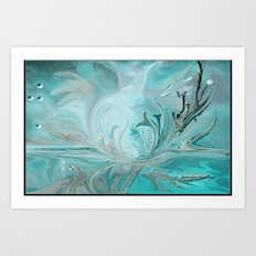 Dolphin Dreams Art Print