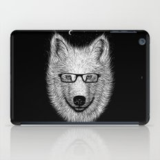 WHITE SPECTACLE iPad Case