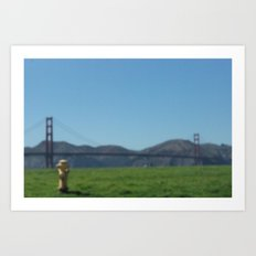 gazy bridge Art Print