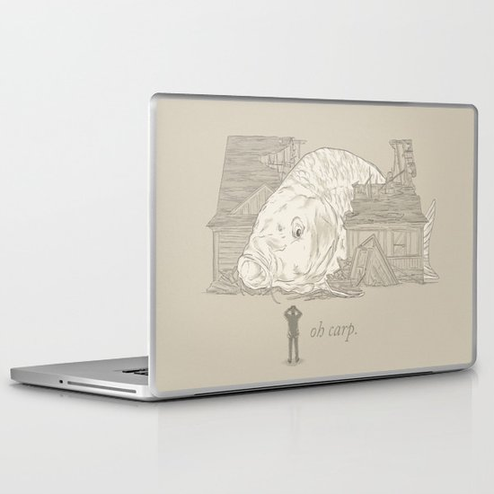 Oh carp. Laptop & iPad Skin