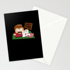 South Parks and Rec Stationery Cards
