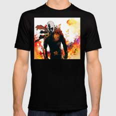Onepunch Man Mens Fitted Tee Black SMALL