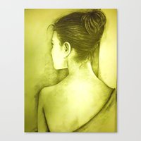 BEHIND Canvas Print