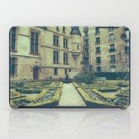French Garden Maze IV iPad Case