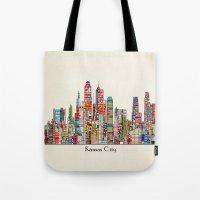 Kansas City Missouri Sky… Tote Bag