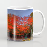 Falling for Red Mug