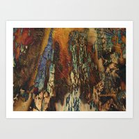 Chicago Woodie Woo by Sherri Of Palm Springs-abstract Art Print