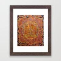 Muladhara - Root Chakra Framed Art Print
