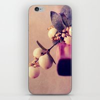 white balls iPhone & iPod Skin