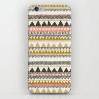 Mountain triangle pattern iPhone & iPod Skin