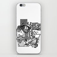 Pirate iPhone & iPod Skin
