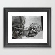 Dialouging Framed Art Print
