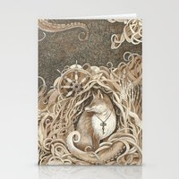 The Fox And The Sea Stationery Cards