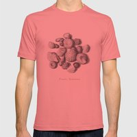 Fossils Mens Fitted Tee Pomegranate SMALL