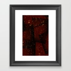 Cities and Desire Framed Art Print
