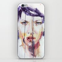 Portraint 1 iPhone & iPod Skin