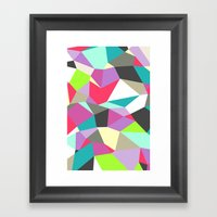 Geomesh 02 Framed Art Print
