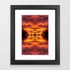 Sky within Framed Art Print