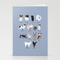 14 Dogs & Kitties Stationery Cards