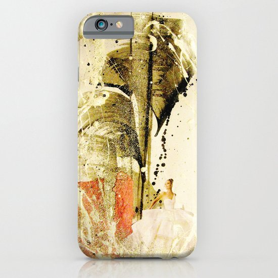 lady in white iPhone & iPod Case