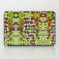 Stained Glass Jewels iPad Case