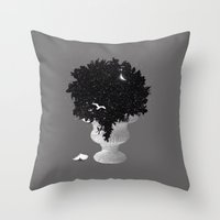 Marvels Of The Night Throw Pillow