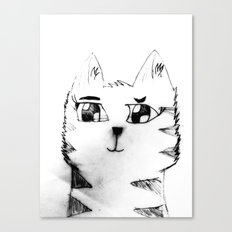 Cat for Sale Canvas Print