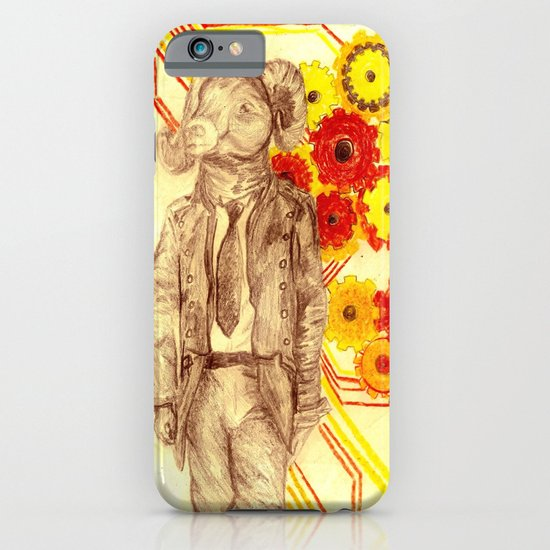 Steampunk Ram iPhone & iPod Case