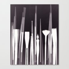 Paintbrush Photogram Canvas Print
