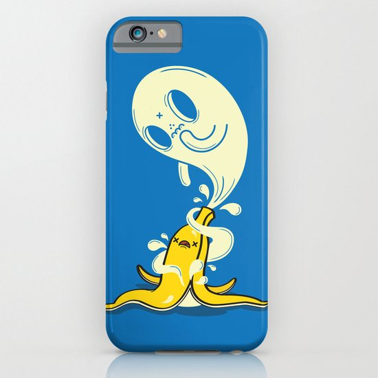 Banana Ghost iPhone & iPod Case