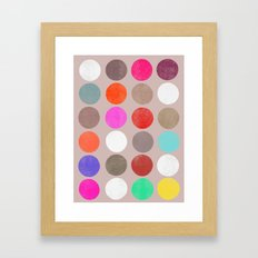 colorplay 2 Framed Art Print