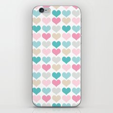 sweet hearts iPhone & iPod Skin