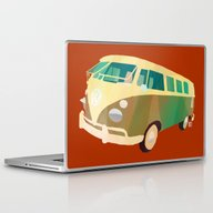 Laptop & iPad Skin featuring Kombi 1 by Buster Fidez