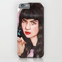 iPhone Cases featuring Grimes III  by Helen Green