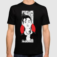 NO WAIFU FOR YOU SMALL Mens Fitted Tee Black
