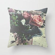 euphoric flowers  Throw Pillow