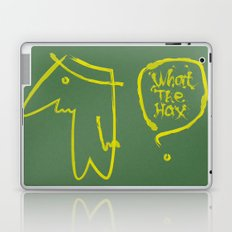 wth? man Laptop & iPad Skin