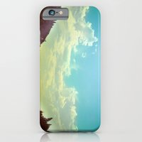 iPhone & iPod Case featuring Sky Mountain by mark jones