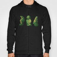 3 Dragons In A Cave Hoody