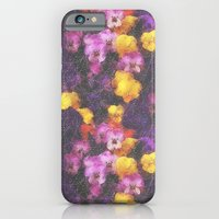 Violets And Pearls iPhone 6 Slim Case