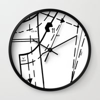 Pattern Master #2 Wall Clock