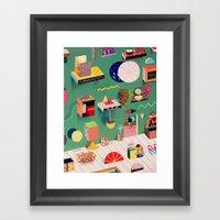 Parabolic Art Gallery Framed Art Print
