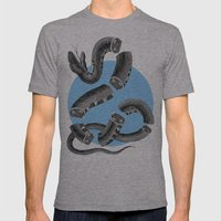 Snake Mens Fitted Tee Athletic Grey SMALL
