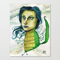 LOVELY CREATURE Canvas Print
