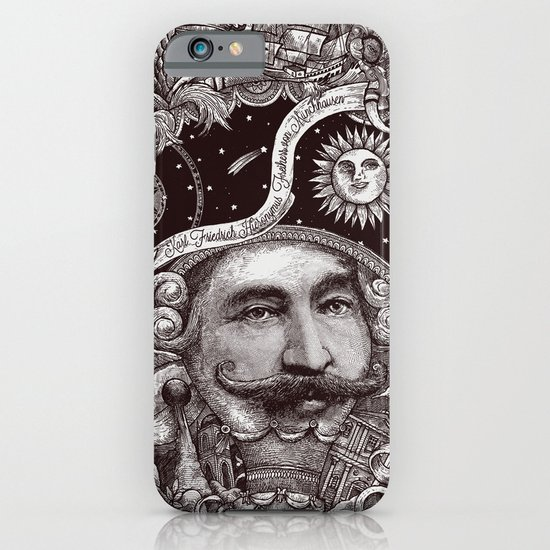 Baron von Munchausen iPhone & iPod Case