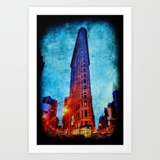 Flatiron NYC Art Print